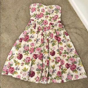 Vintage Floral Garden Dress